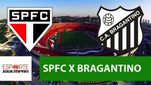 São Paulo x Bragantino: acompanhe o jogo ao vivo na Jovem Pan