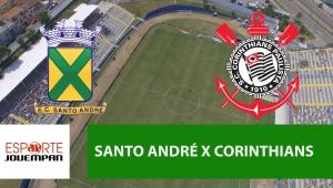 Santo André x Corinthians: acompanhe o jogo ao vivo na Jovem Pan
