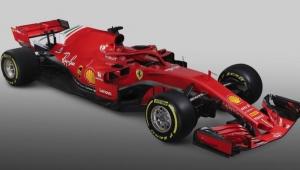 Com vermelho mais intenso, Ferrari apresenta carro para a temporada de 2018 da F1