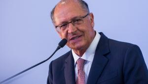 """""""Não tem eleição fácil"""", diz Geraldo Alckmin"""