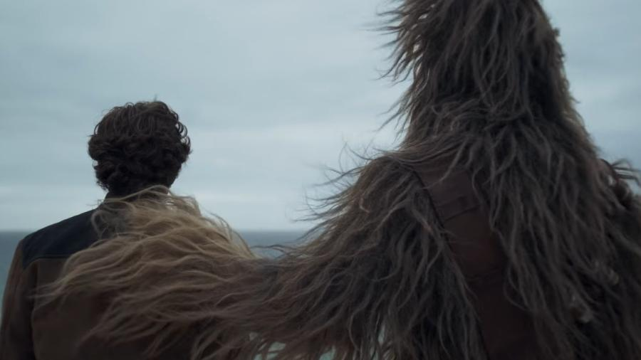 Solo e Chewie