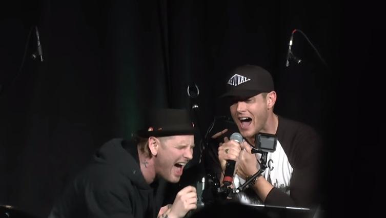 Jensen Ackles e Corey Taylor