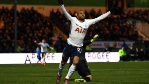 Lucas marca, mas Tottenham só empata com time da 3ª divisão na Copa da Inglaterra