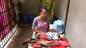 Mulher que ficou presa com recém-nascido deixa penitenciária