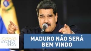 Maduro não será bem visto na Cúpula das Américas