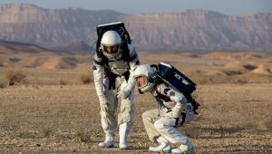 Astronautas israelenses simulam missão em Marte; veja fotos