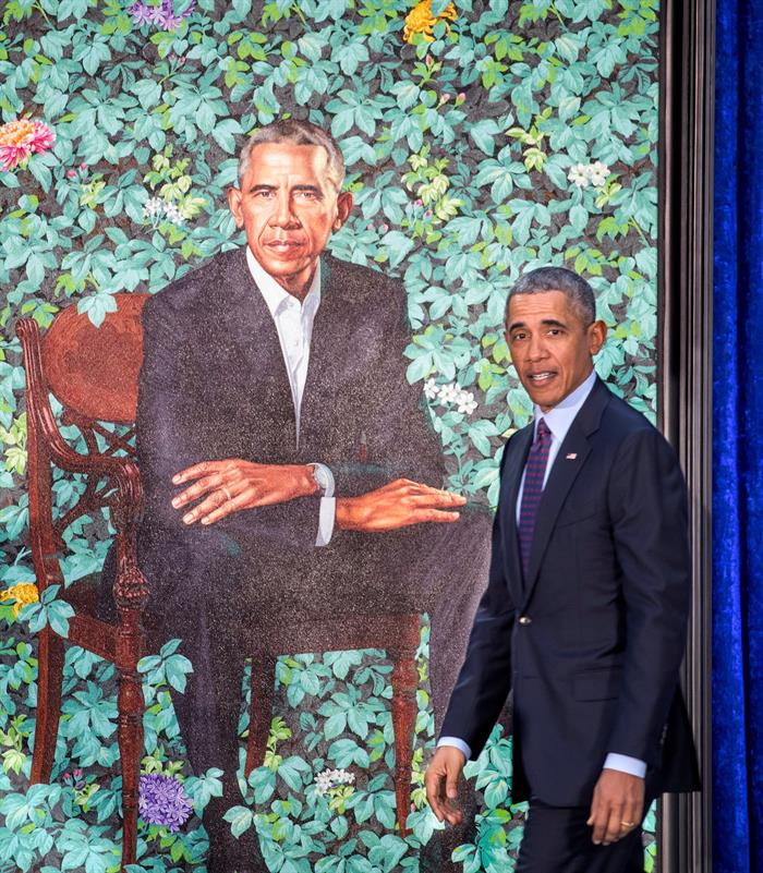 Retrato oficial de Obama gera memes na internet