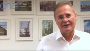 Renan Calheiros dá show de cinismo em vídeo