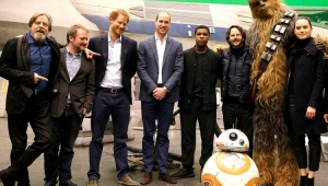 """Sem saber, Príncipe William é gravado reclamando de corte em """"Star Wars"""""""