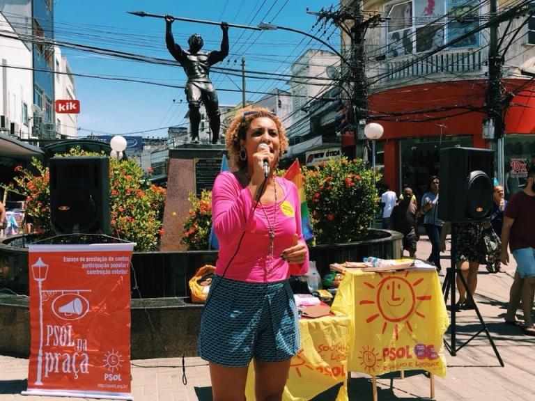 Vereadora do PSOL é morta a tiros