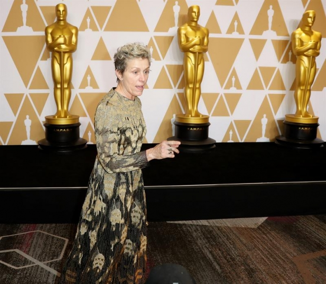 O discurso de Frances McDormand no Oscar e a cláusula de inclusão
