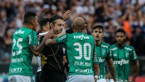 Jailson, Dudu e Felipe Melo são denunciados no TJD e podem perder as finais do Paulistão