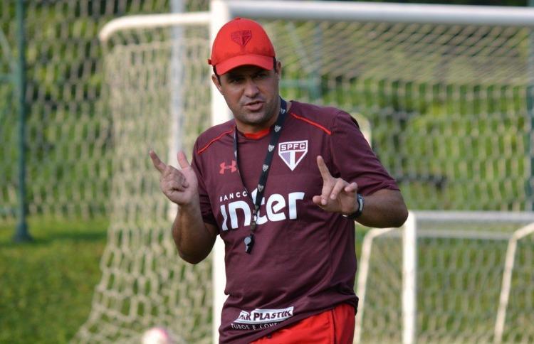Divulgação SPFCAndré Jardine vai comandar o São Paulo pela terceira vez diante do São Caetano