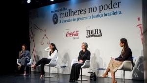 Três das mais importantes mulheres do Judiciário discutem a questão de gênero da Justiça