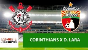 Corinthians x Deportivo Lara: acompanhe o jogo ao vivo na Jovem Pan