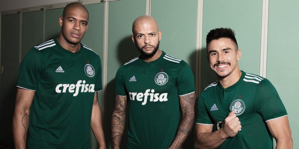 23fca3f8213 Palmeiras lança último uniforme com patrocínio da Adidas