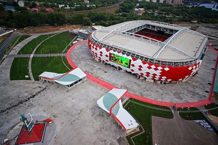 Arena Spartak, Otkrytie Arena, copa 2018