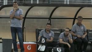 Fábio Carille lamenta falta de concentração diante do Bragantino
