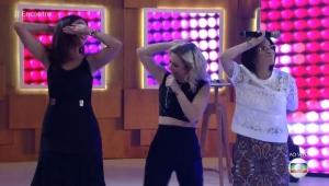 """Fátima Bernardes dança """"Ragatanga"""" com o Rouge e a internet vai à loucura"""