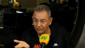 """""""Não dá para ver o Santos jogar. É terrível!"""", dispara Flavio Prado"""