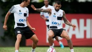 Após expulsão, Gabigol vai a campo com reservas em reapresentação do Santos