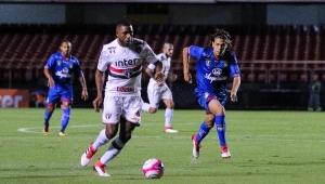 Após classificação do São Paulo, Jucilei responde zagueiro do Novorizontino