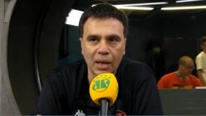 """""""Roger não mereceu os xingamentos"""", afirma Mauro Beting"""