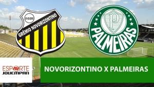 Novorizontino x Palmeiras: acompanhe o jogo ao vivo na Jovem Pan