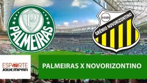 Palmeiras x Novorizontino: acompanhe o jogo ao vivo na Jovem Pan