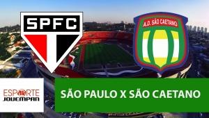 São Paulo x São Caetano: acompanhe o jogo ao vivo na Jovem Pan
