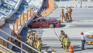 Autoridades confirmam quatro mortes em queda de passarela em Miami