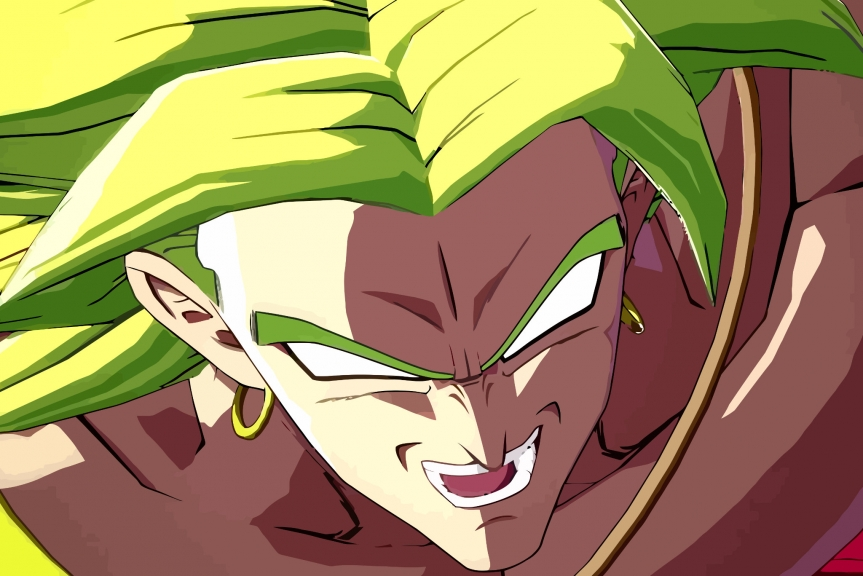 Broly dá surra em Goku em vídeo de Dragon Ball FighterZ