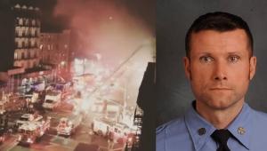 Bombeiro morre em incêndio no set de filme com Bruce Willis