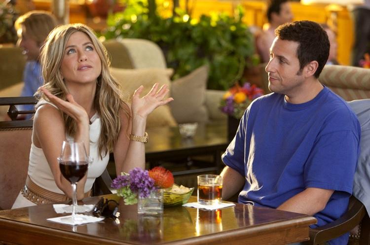 Jennifer Aniston repetirá parceria com Adam Sandler em comédia na Netflix