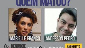 Governo estuda pagar R$ 100 mil por informações sobre assassinos de Marielle