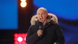 Como pode? Putin é reeleito com 76% dos votos