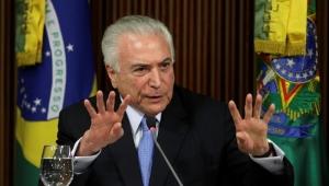 Temer chega a São Paulo, onde trata de investigação com advogado