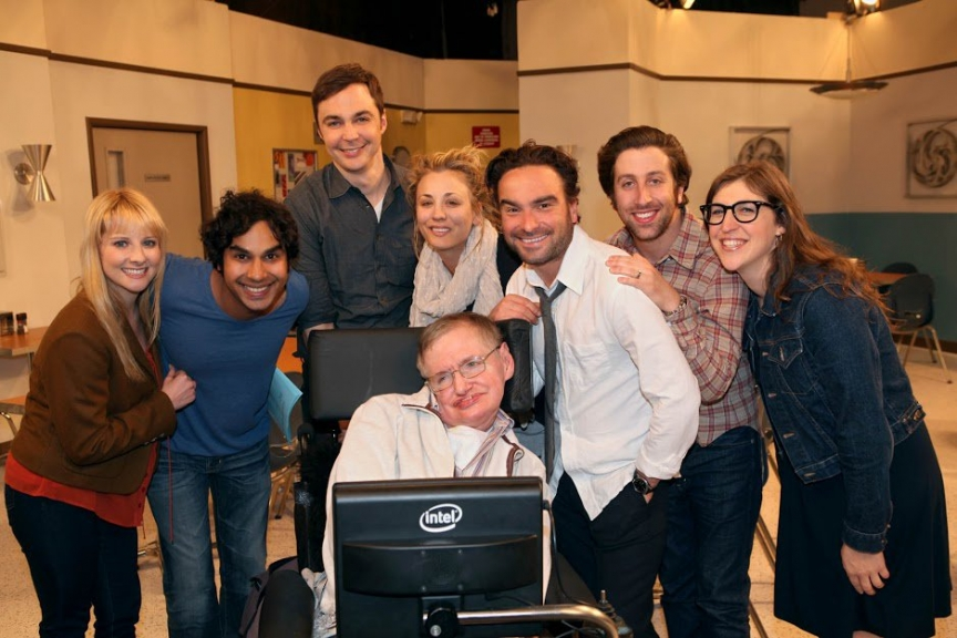 Elenco do Big Bang Theory despede-se de Stephen Hawking