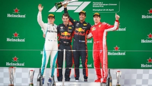 Ricciardo surpreende favoritos e vence GP da China na Fórmula 1