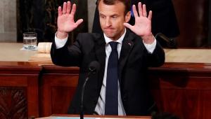 Milhares protestam na França contra política liberal de Macron