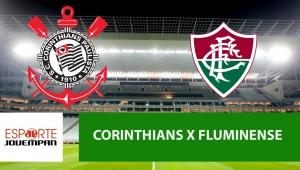 Corinthians x Fluminense: acompanhe o jogo ao vivo na Jovem Pan