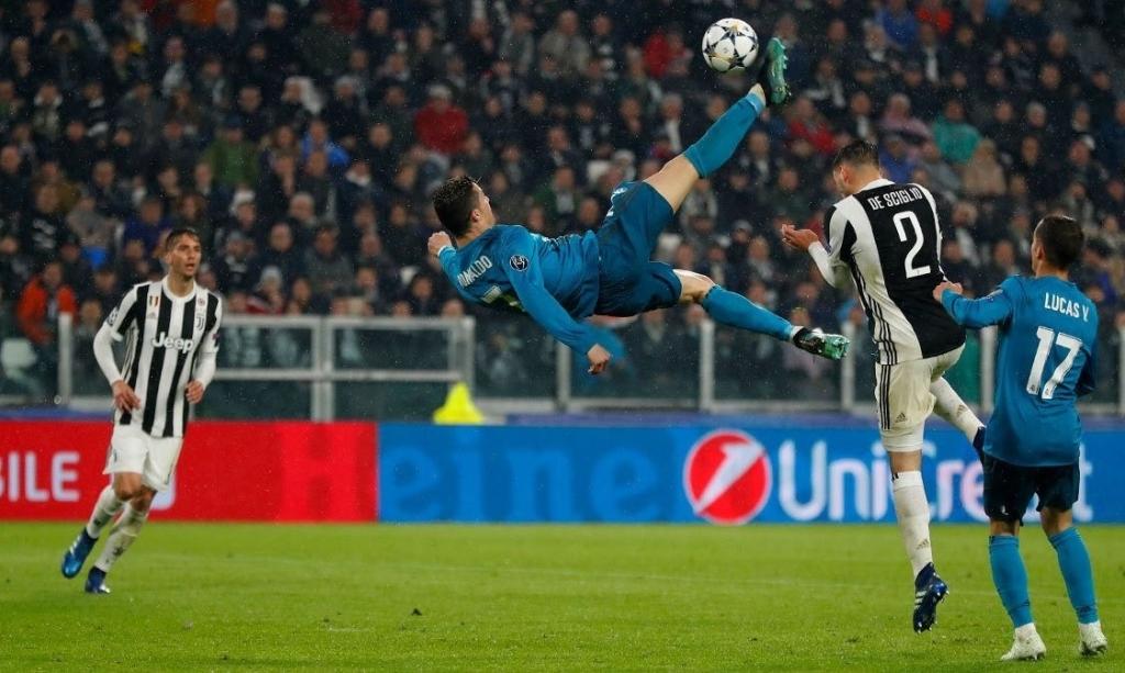 d328c95bce Real Madrid Divulgação Cristiano Ronaldo marcou um golaço de bicicleta na  primeira partida contra a Juventus