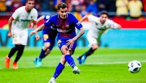 Com assistência e gol de Coutinho, Barça dá show e é tetra da Copa do Rei