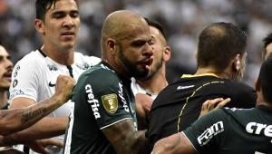 Briga em final tira Felipe Melo de 5 jogos no Paulistão; Clayson perderá quatro