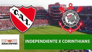 Independiente x Corinthians: acompanhe o jogo ao vivo na Jovem Pan