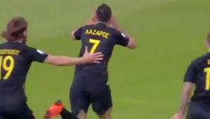 Time grego desafia o improvável e passa de fase com gol espetacular no último minuto