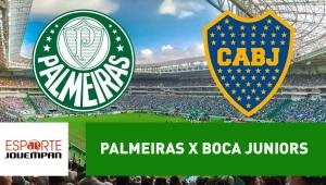 Palmeiras x Boca Juniors: acompanhe o jogo ao vivo na Jovem Pan
