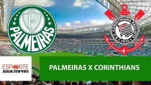 Palmeiras x Corinthians: acompanhe o jogo ao vivo na Jovem Pan