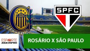 Rosário Central x São Paulo: acompanhe o jogo ao vivo na Jovem Pan
