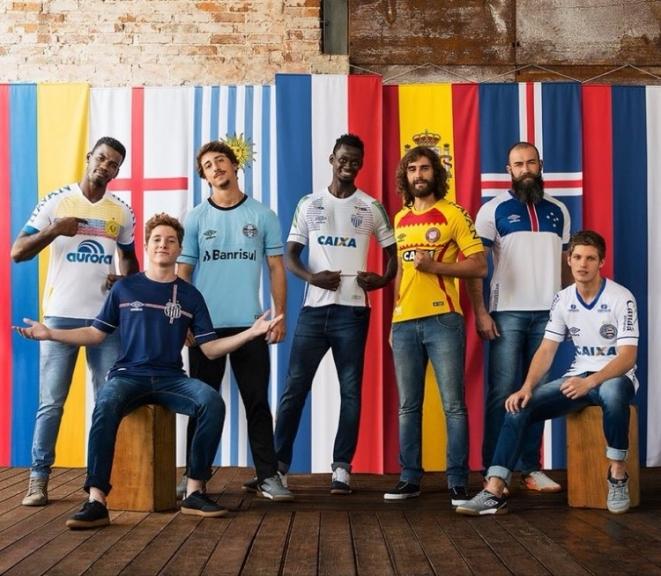 Santos divulga três novas camisas Umbro; veja modelos